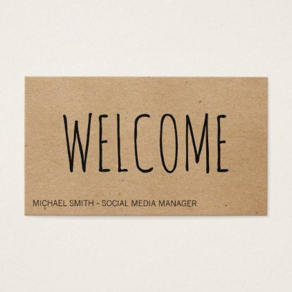 Welcome Natural Texture Business Card Zazzle Com Business Card Texture Business Card Minimalist Natural Texture
