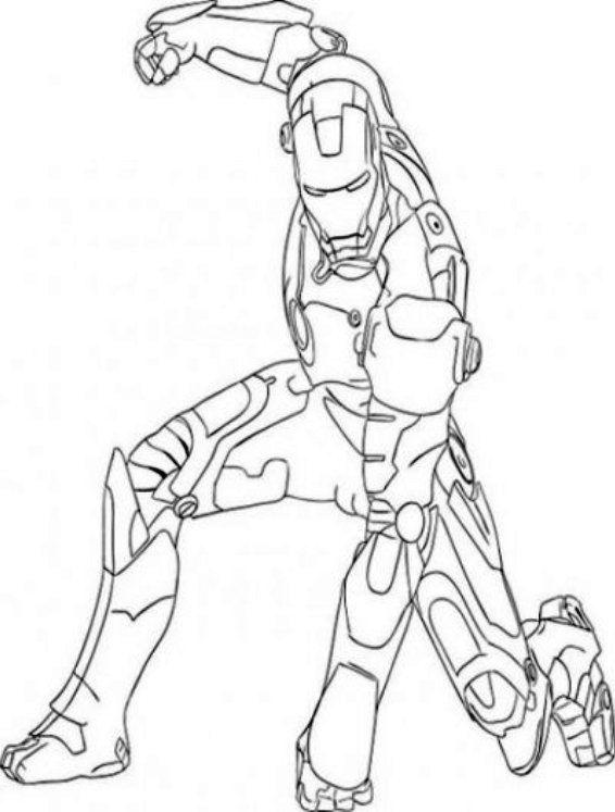 omalovanka-iron-man | Adult coloring pages, Omaľovánky ...