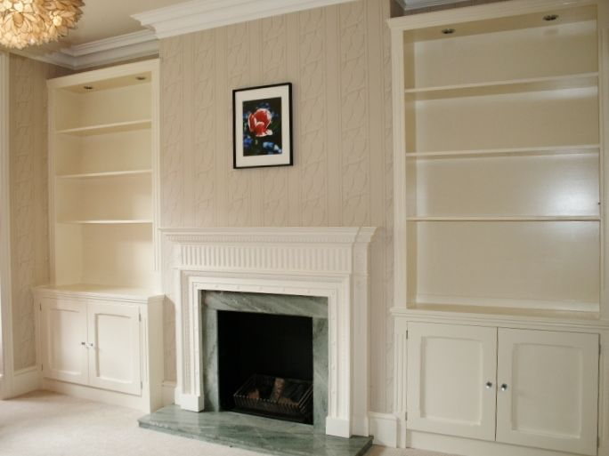 fireplace and shelving unit images pictures | Fireplace Shelving ...