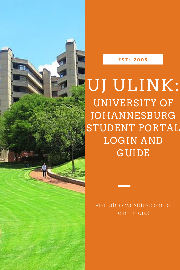 Uj Ulink How To Log Into University Of Johannesburg Uj Portal