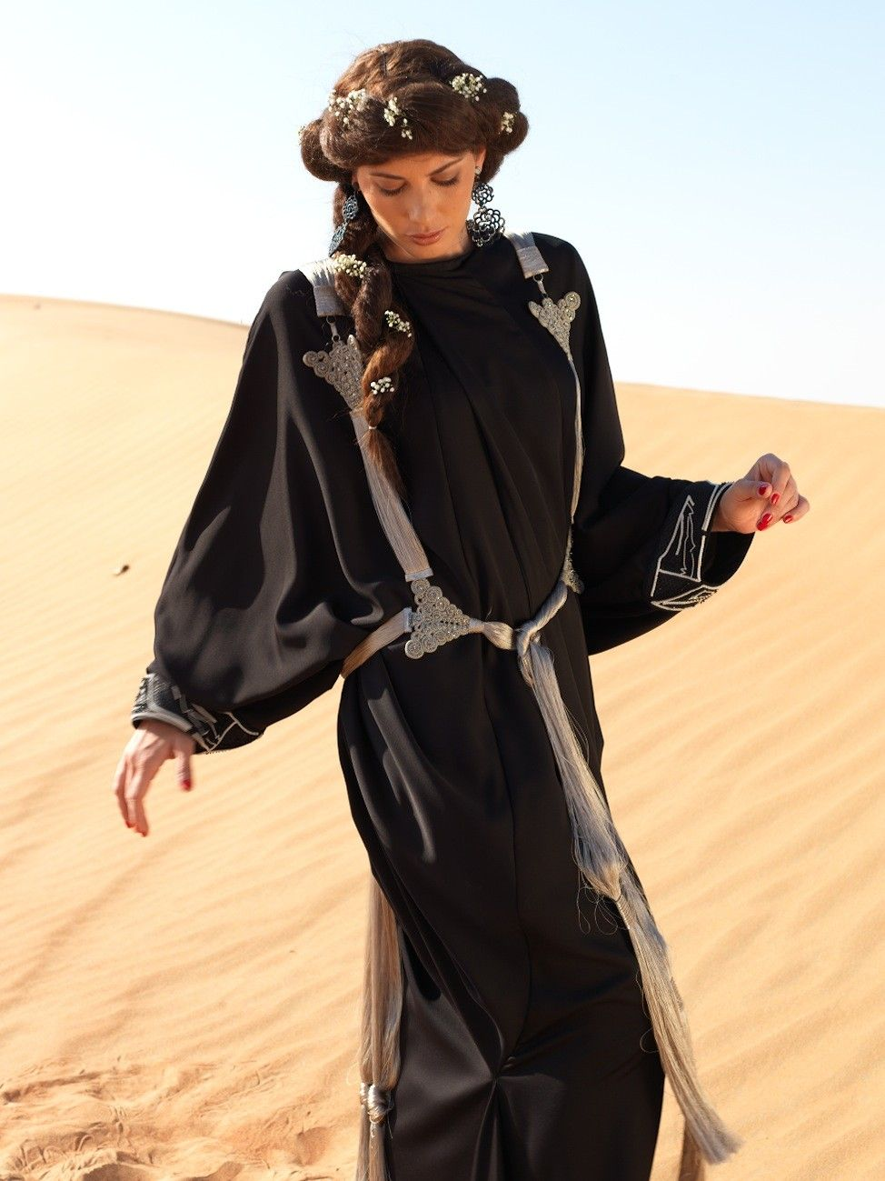Follow's from By RegineL. #accessory #middleeast #silver