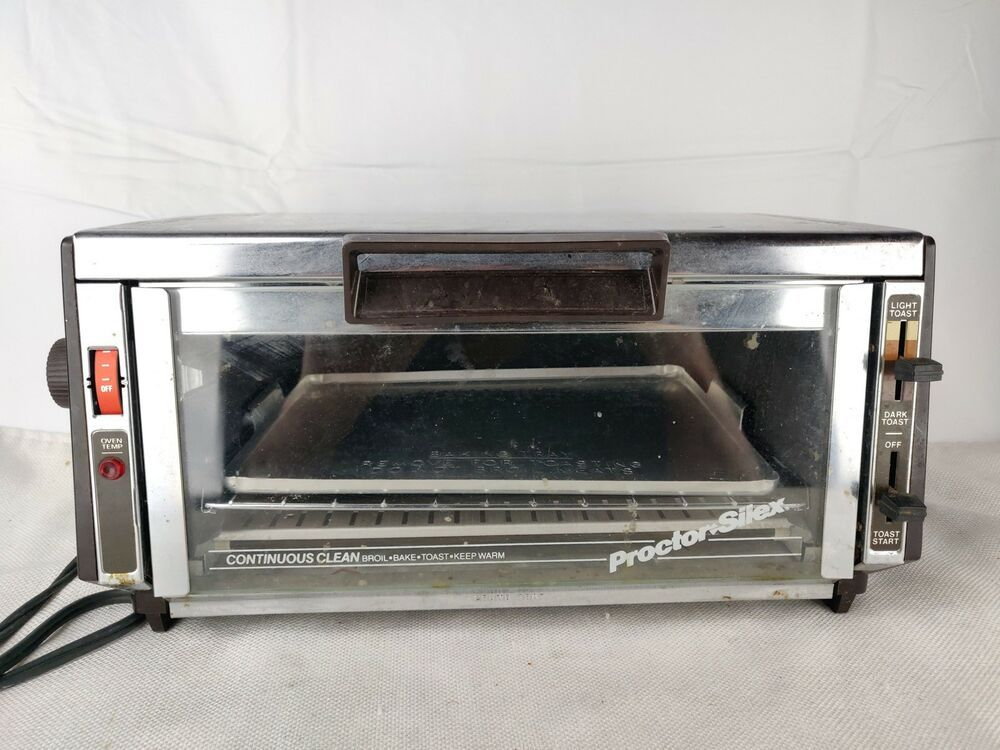 Proctor Silex Continuos Clean 0234 B1378 Toaster Oven 1400 Watts Proctorsilex Toaster Oven Toaster Oven