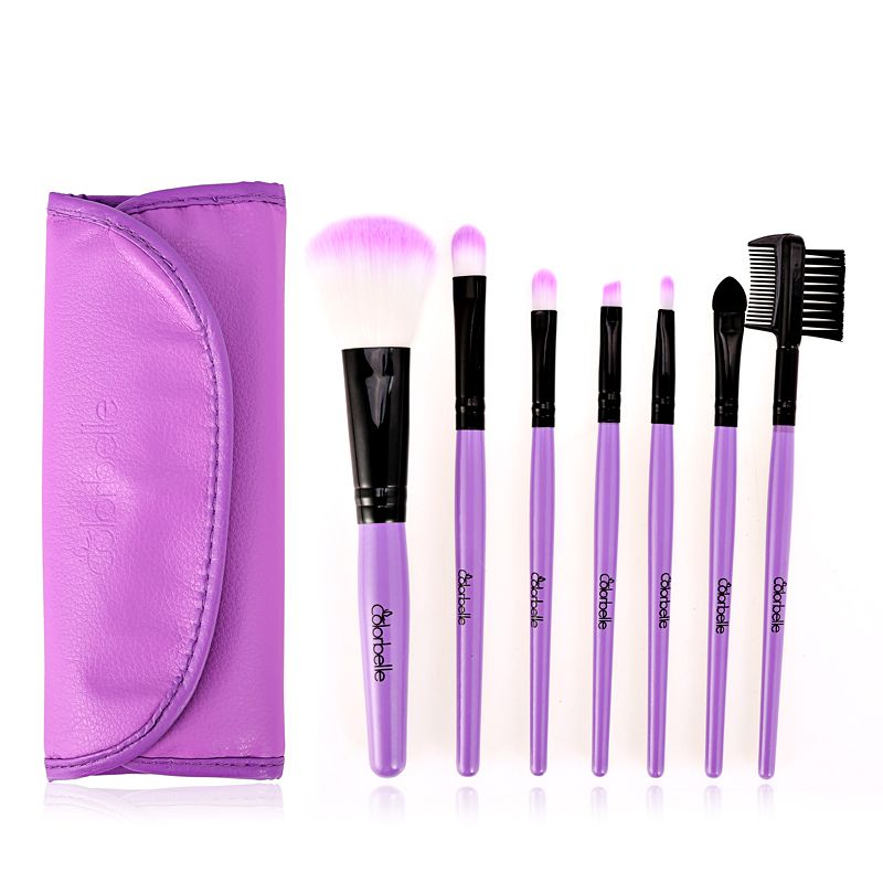 Colorbelle 7 Pc Purple Cosmetic Brush Set It Cosmetics