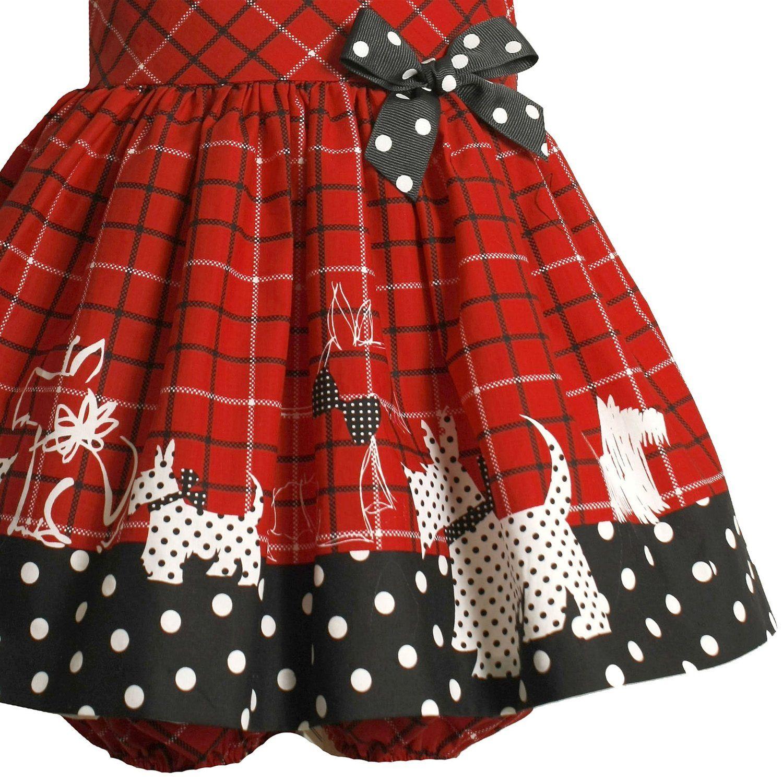 Bonnie Jean Baby Newborn 3m-9m 2-piece Red