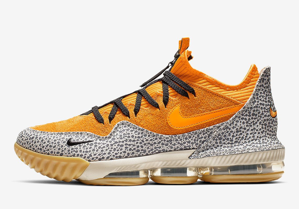 low priced 7ad7b ab891 The Nike LeBron 16 Low Safari Has Roots In 2003