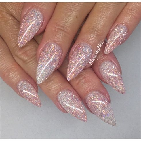 Glitter Nails By Margaritasnailz From Nail Art Gallery Nail Art