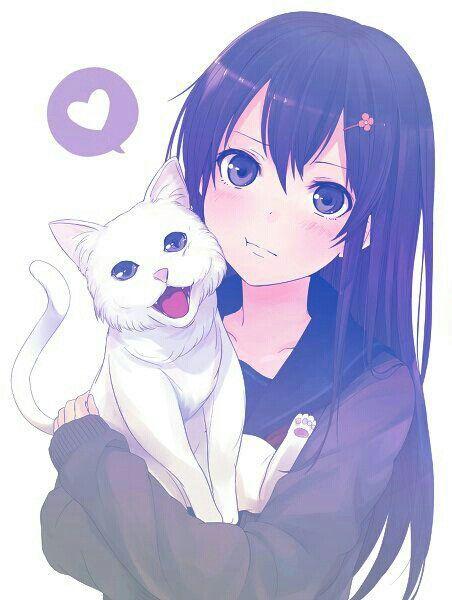 Manga Anime Cats Love Anime Neko Anime Art Girl Anime
