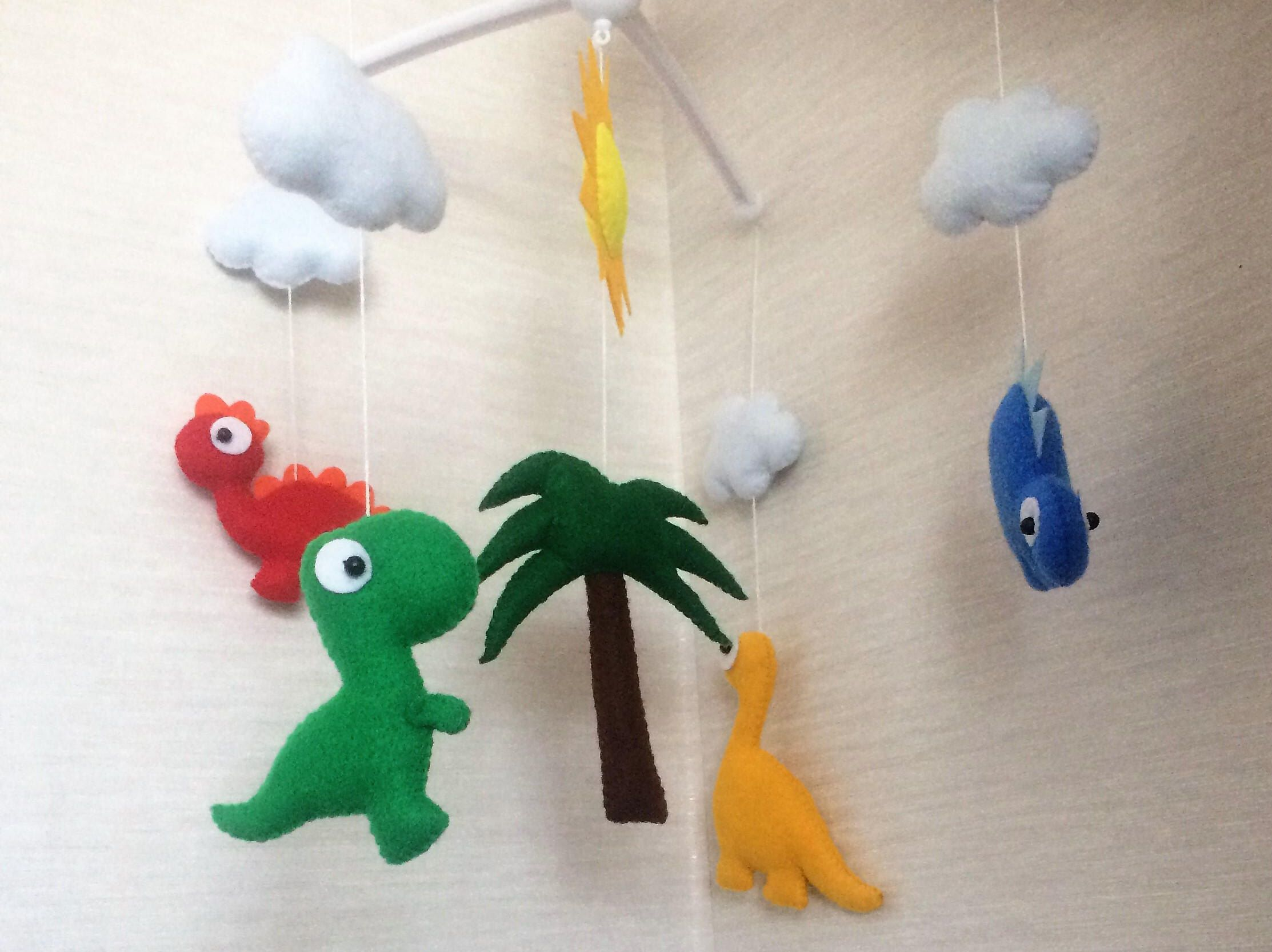 Baby mobile Dinosaur Baby Crib Mobile Nursery Mobile Unique baby