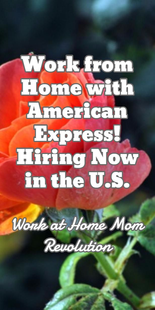 American Express Home Based Customer Service Jobs In U S Work
