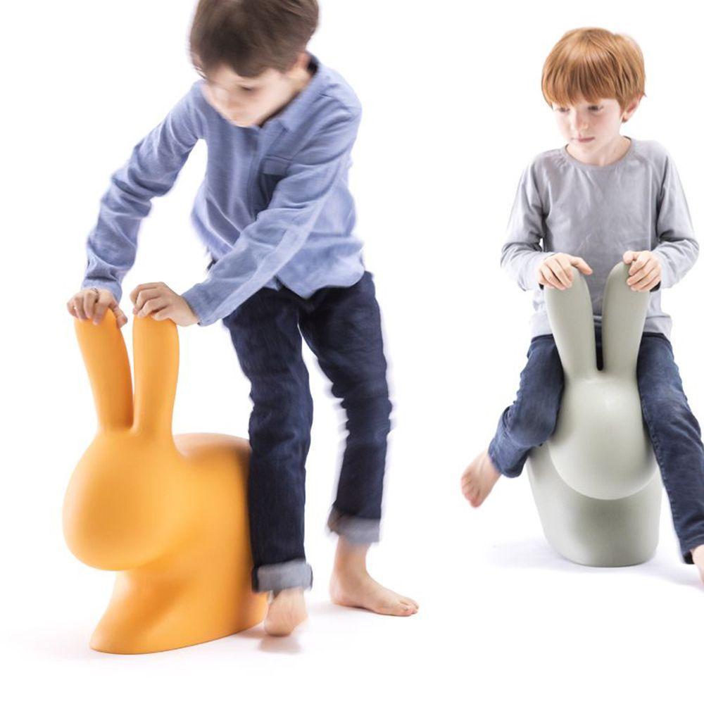 Qeeboo Rabbit Chair Baby Kids Seating Kids Interior