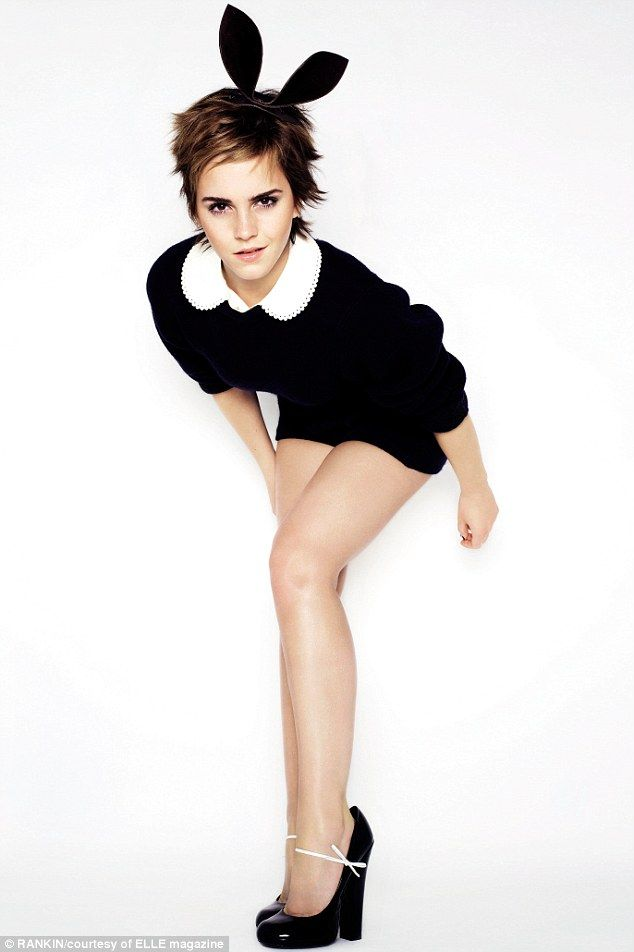 I Worry About Looking Good Bunny Girl Emma Watson Reveals