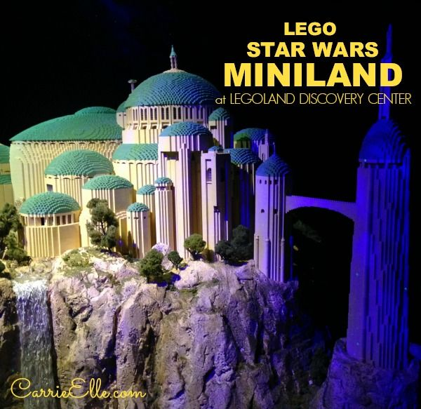 New LEGO Star Wars MINILAND Opens at LEGOLAND Discovery Center! See ...