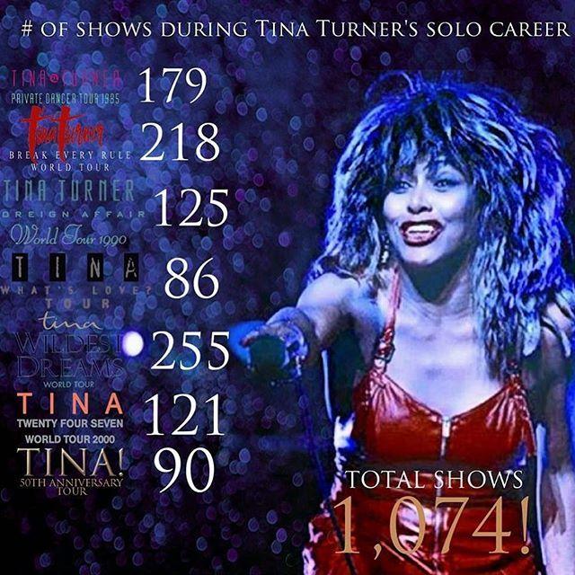 Have you ever been to a Tina's concert? #tinaturner#concerts#records#tinalive#tinaturnerlive