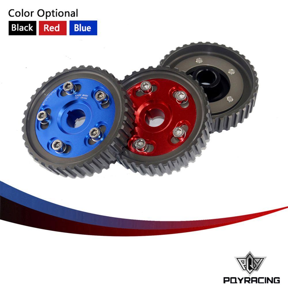 Pqy Racing Adjustable Cam Gear Alloy Timing For Honda Sohc D15 Alfa Romeo D16 D