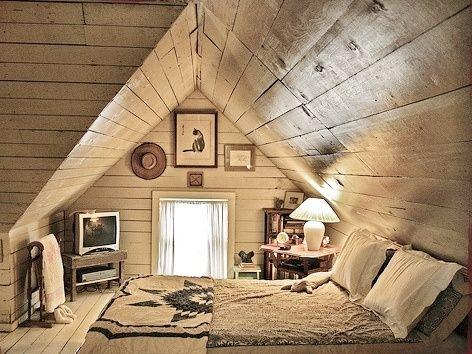 Attic Room Home House Attic Bedrooms