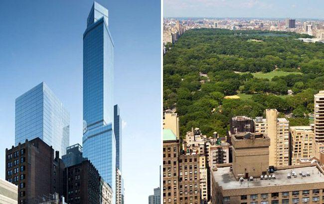 8 Of New York City S Tallest Hotels Marriott Courtyard Residence Inn Central Park