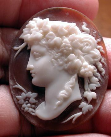 """۞ Cameo """"Dionysus"""", God of wine and fun _ A Theme from the ..."""
