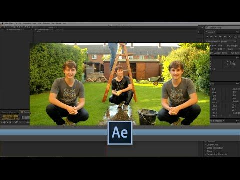 Advanced Cloning After Effects Tutorial Youtube With Images