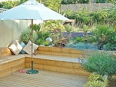 Decking Ideas For Sloping Garden Google Search Garden In 2019