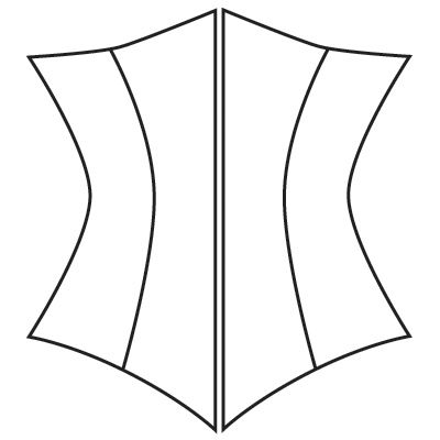 custom corset pattern underbust  corset pattern