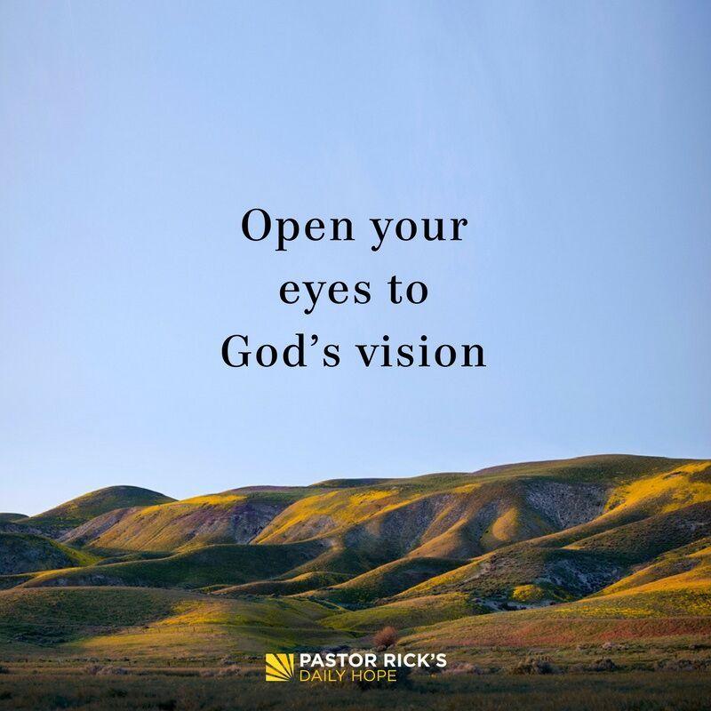open your eyes to god s vision god days of prayer god loves me