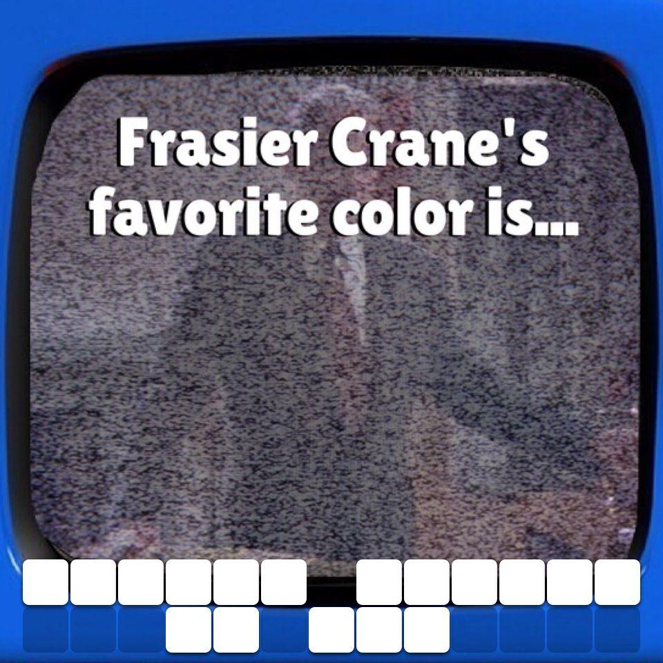 Funny Frasier trivia Online trivia, Trivia, Trivia questions