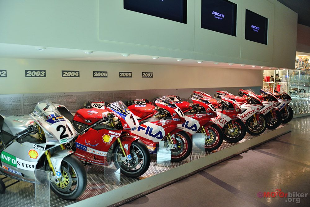 """a revisit of the ducati museum""""mikewerner 