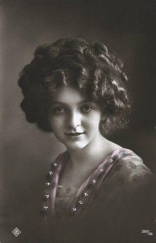 early twentieth century hair