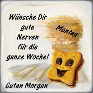 Hahaha Montag Sprüche Guten Morgen Und Guten Morgen Montag