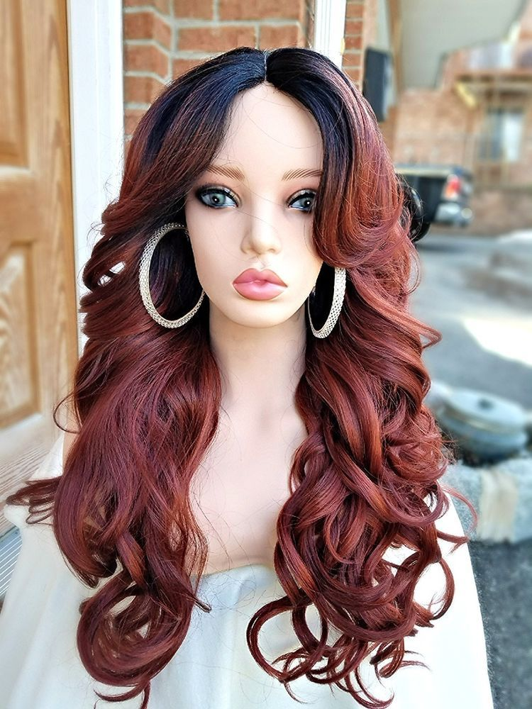 37++ Loose deep wave hairstyles with bangs trends