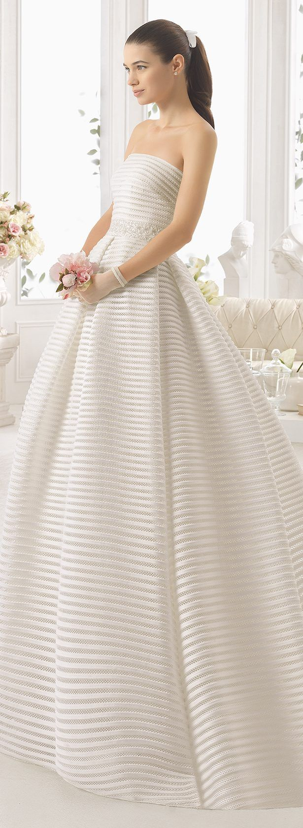 Aire barcelona wedding dresses  Wedding Dresses By Aire Barcelona  Bridal Collection  Aire
