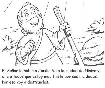 RECURSOS PARA LA ESCUELA DOMINICAL: Historia bíblica de Jonás para ...