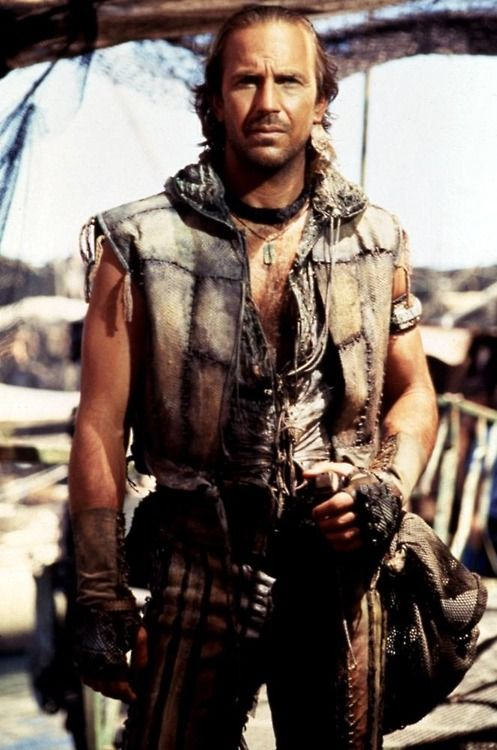 Kevin Costner from Waterworld (1995)