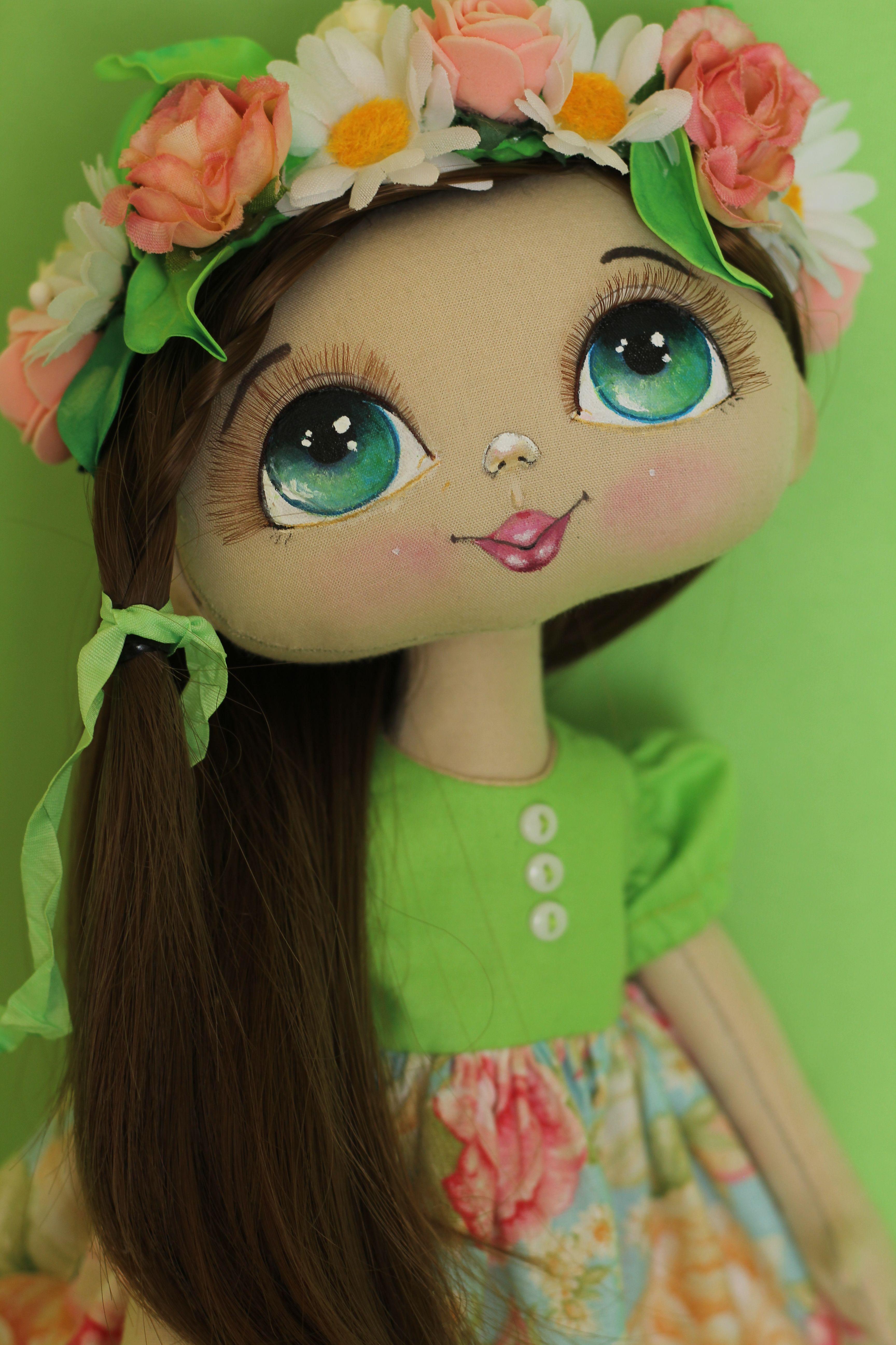 Куколка Аннет #dollfacepainting