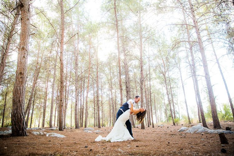 A Colorful Jewish Destination Wedding with an Ellis Bridal Gown at ...