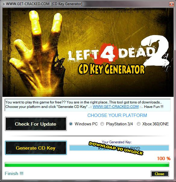 Left 4 Dead 2 Free Steam Code Key Generator 2015 Left 4 Dead