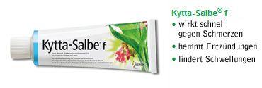 Kytta®-Salbe - Natur hilft heilen. Pflanzliche Arzneimittel bei Muskelschmerzen und Gelenkschmerzen mit Beinwell.