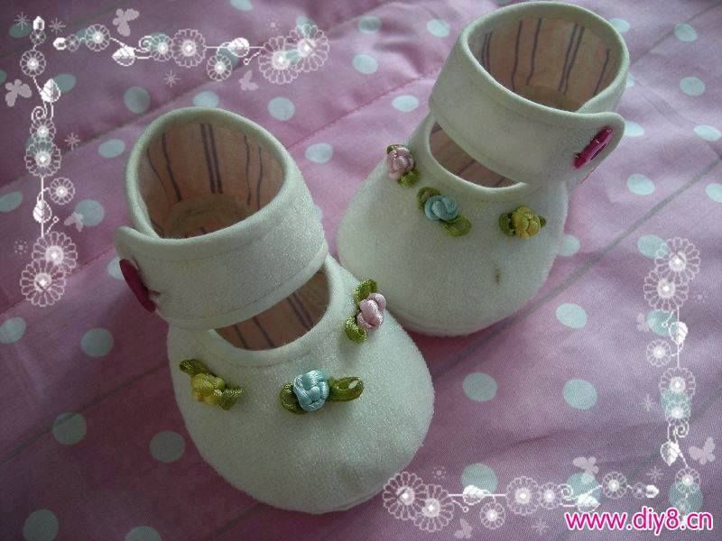 25 ideas de patrones para #zapatos de #bebé #baby #shoes #pattern #tela #sewing #fieltro #felt www.telaresymanualidades.com