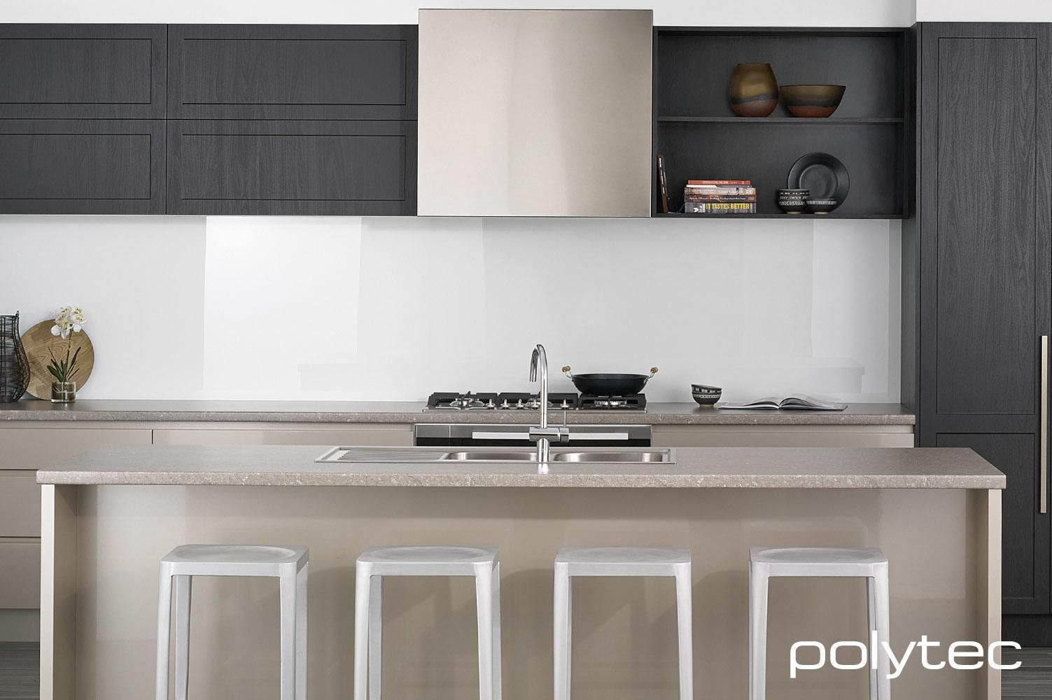 Tempest Colours Polytec Themolaminated Doors In Tempest Woodgrain Kitchen Inspiration Design Kitchen Design Kitchen Cabinet Design
