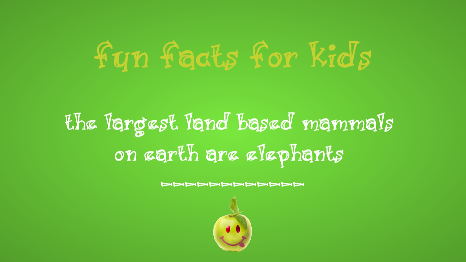 Largest Land Based Mammals | Fun Facts For Kids