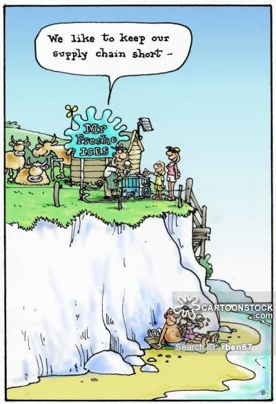 Ice Creams Cartoons And Comics Supply Chain Caricature Funny Cartoons
