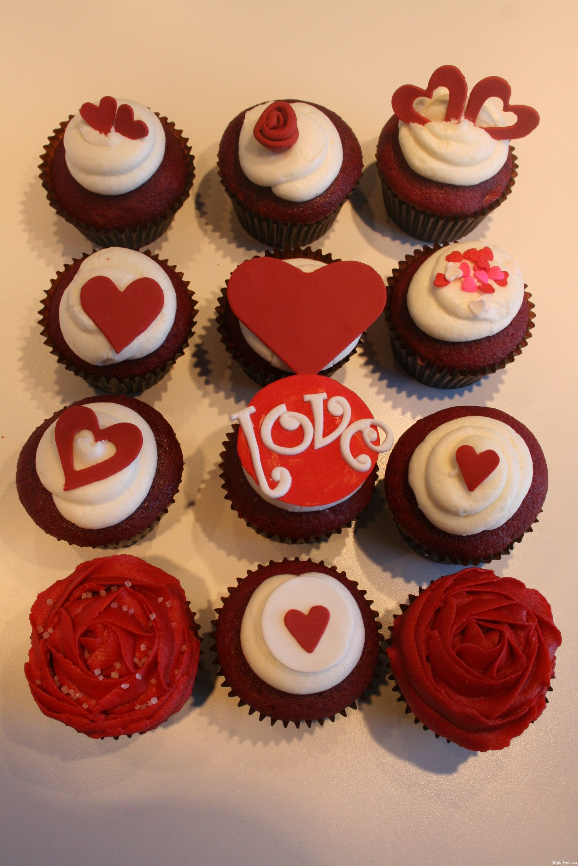 Valentine S Day Cupcakes Google Search Cupcakes In 2018
