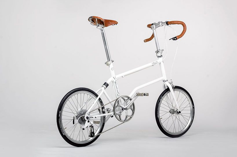 Vello A High Performance Handmade Magnetically Folding Bicycle