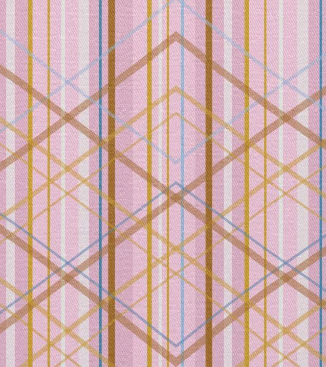 Fabrics A Medium Scale Cotton Print