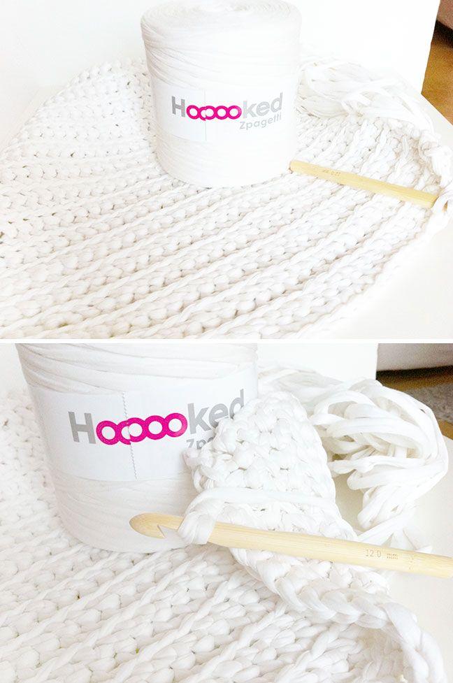 Badezimmerteppich Aus Zpagetti Garn Pinterest Denmark Crochet