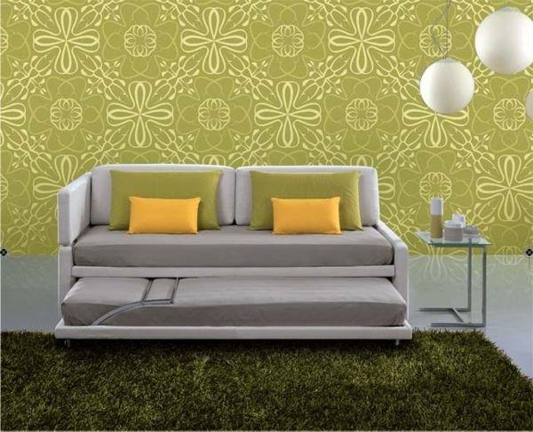 platzsparend ideen seats and sofas online shop, platzsparende möbel fürs wohnzimmer – schlafsofa design ideen, Innenarchitektur