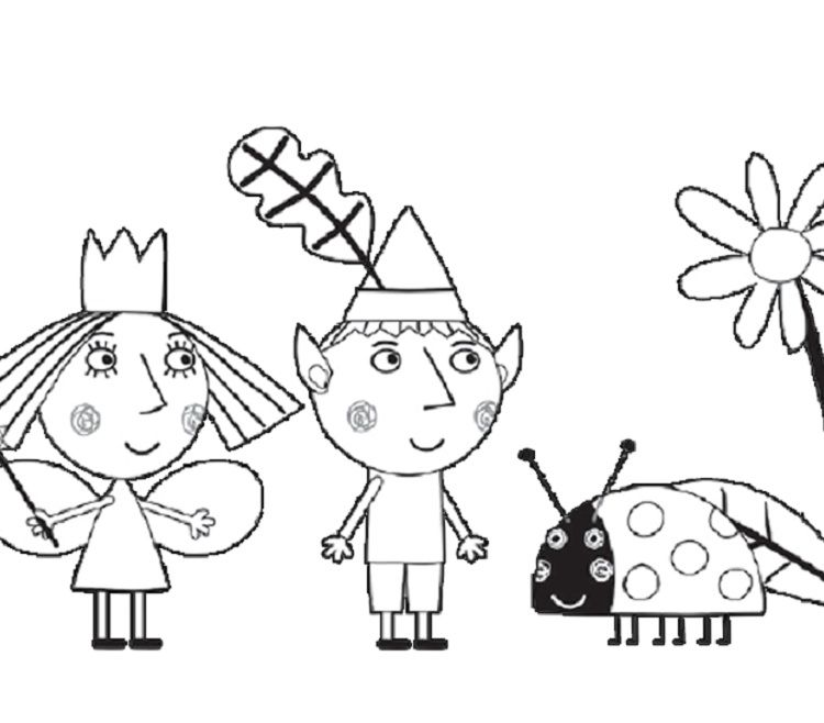 princess holly coloring pages Coloring Pages For Kids