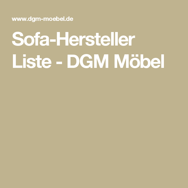 Explore Sofa Hersteller And More