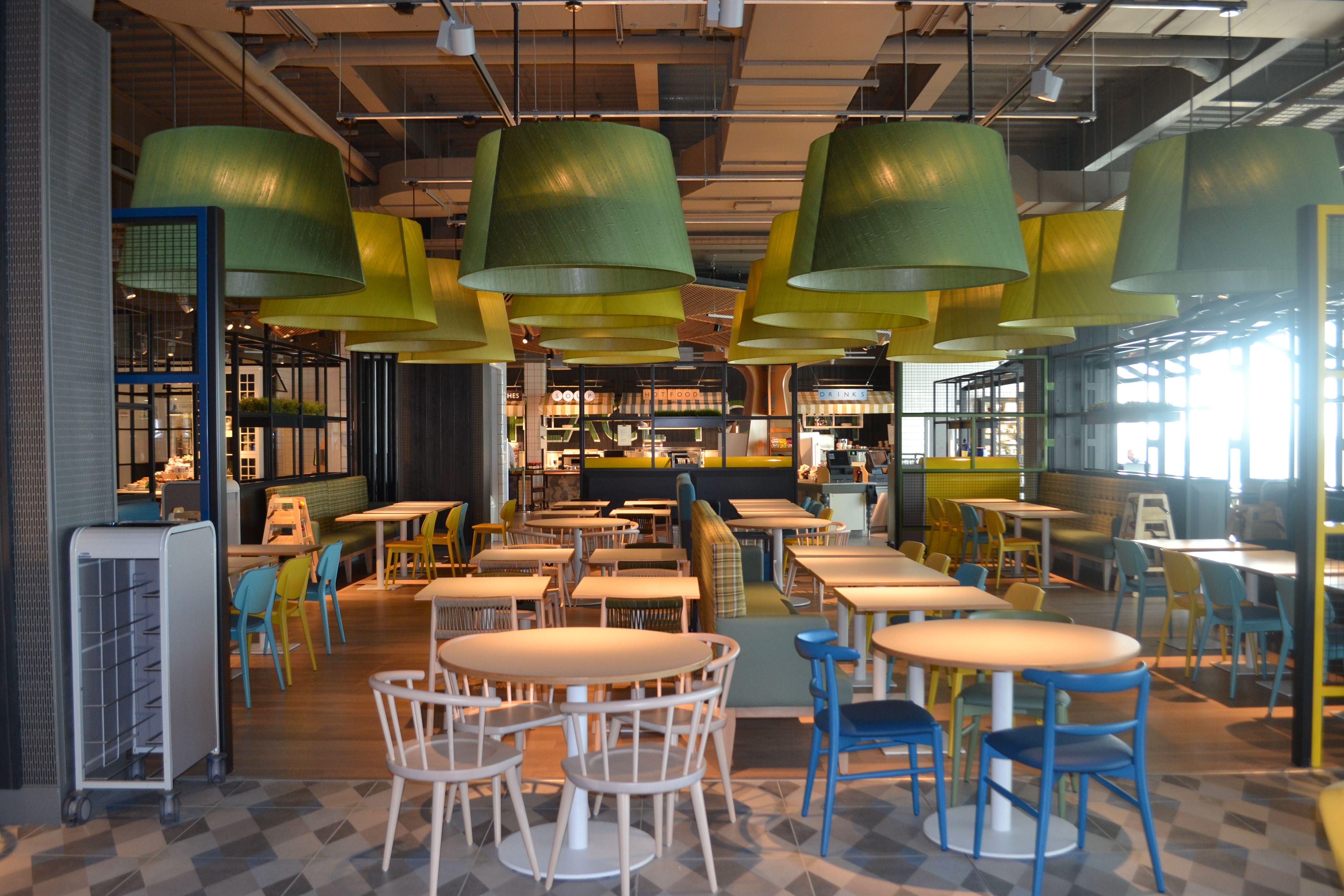 Cds Portfolio John Lewis Birmingham Restaurant And Market Place -