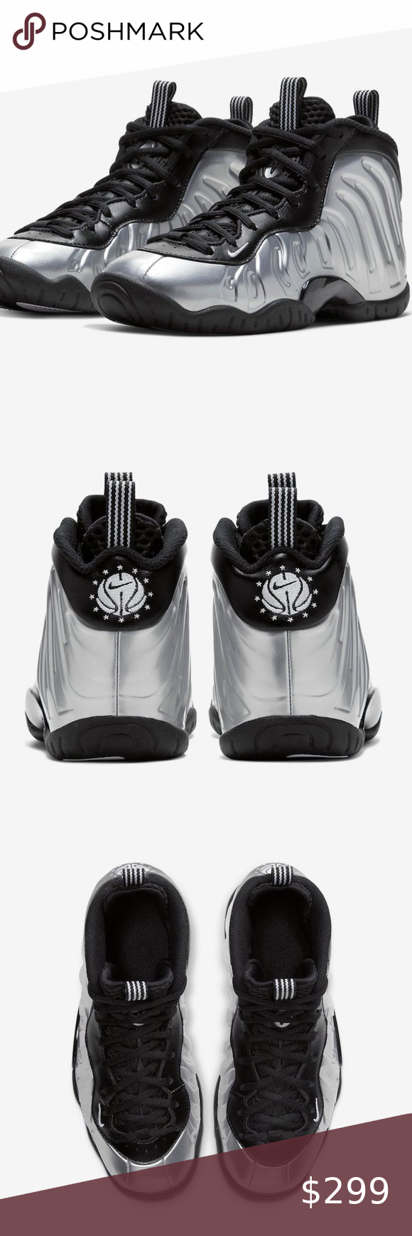 Nike Air Foamposite One Shattered Backboard White Black ...